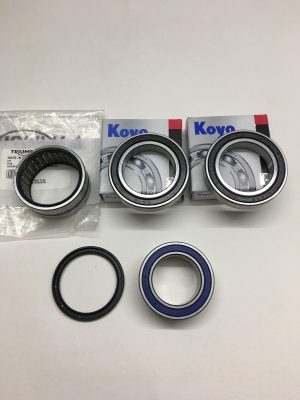 Triumph Wheel Bearings and Dust Seals.
